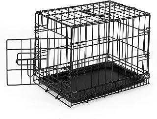 dibea DC00490, jaula de transporte para perros y animales