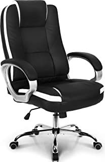Neo Chair Office Chair Computer Desk Chair Gaming - Ergonomic High Back Cushion Lumbar Support with Wheels Comfortable Bla...