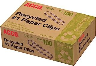 Acco بازیافت شده # 1 کاغذ کاغذ ، 100 تعداد (A7072365A)