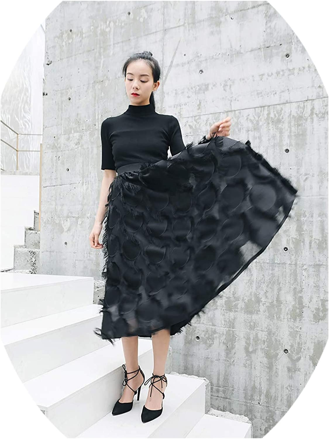 Try My Best dress Women Summer Fashion ONeck Short Sleeve Slim Fit Top Female Solid color Elastic Waisted AnkleLength Skirt
