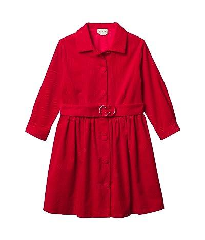 Gucci Kids Enzymed Corduroy Dress (Big Kids)