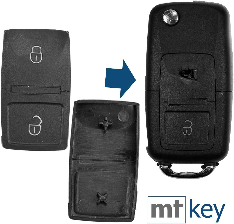 Auto Schlüssel Tasten Set 2x Tastenfeld 3 Tasten Elektronik