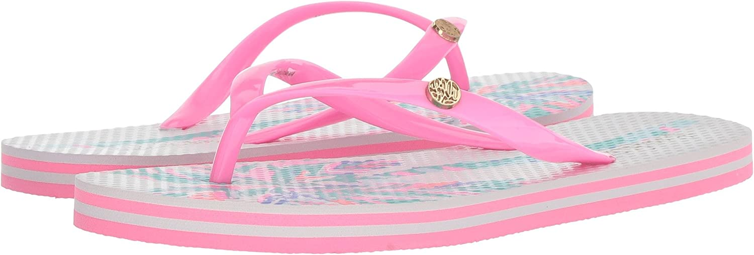 Lilly Pulitzer Womens Pool Flip-Flop