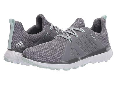 adidas Golf ClimaCool Cage Golf Shoes (Grey Three/Dash Green/Grey Four) Women