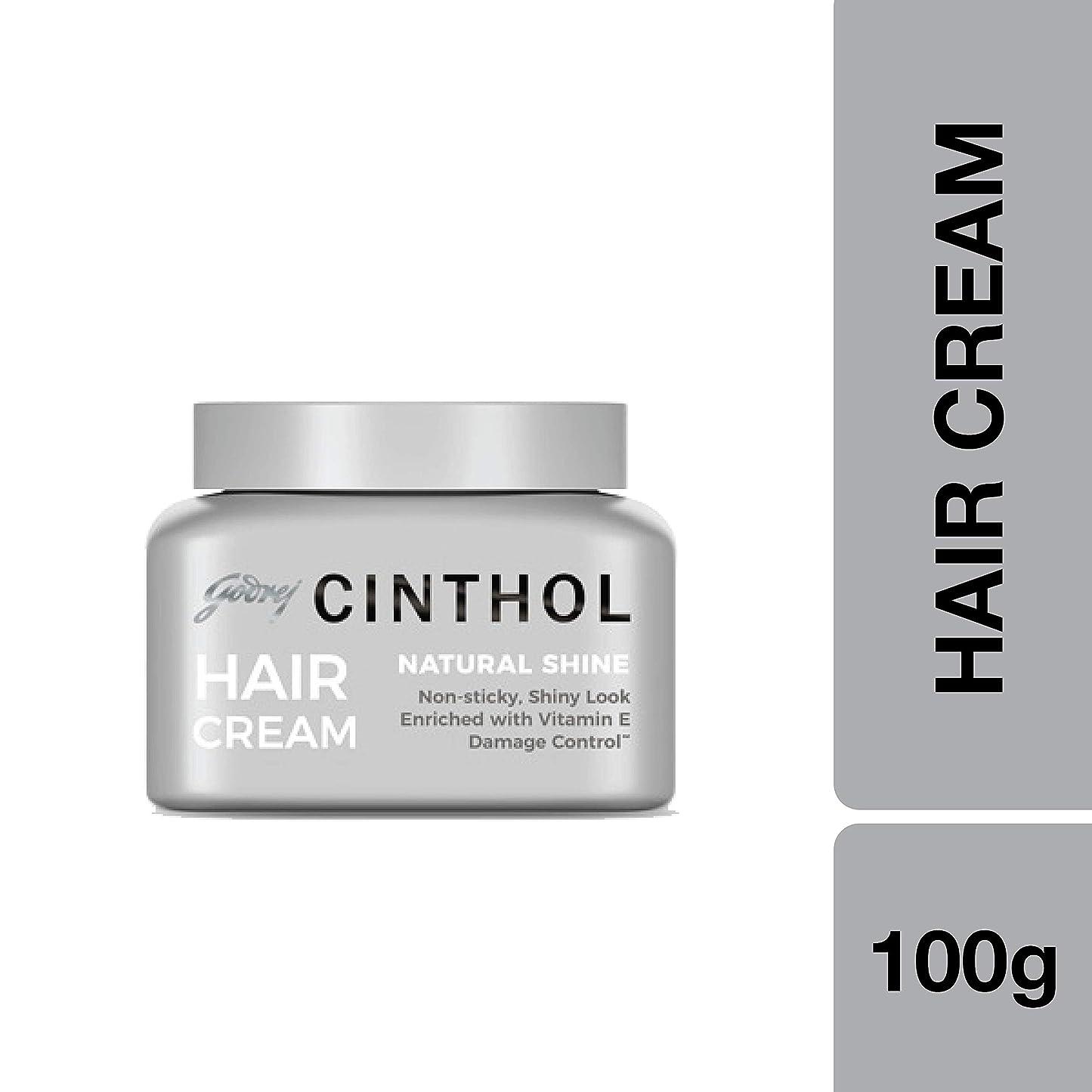 拡声器薬カビCinthol Hair Styling Cream Natural Shine, 100ml