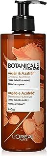 LOreal Paris Botanicals Champú Infusión de Nutrición para cabellos secos - 400 ml