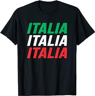 Italia Funny Italy Flag Italian Pride Gift T-Shirt