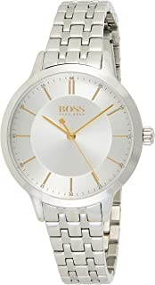 Hugo Boss Women's Silver Dial Stainless Steel Watch - 1570088