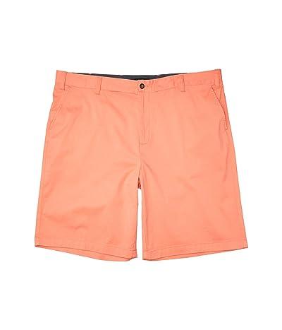 Nautica Big & Tall Big Tall 8 Classic Fit Deck Shorts (Red) Men