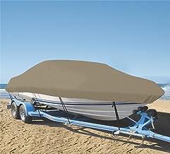 SHT-SBU 9 oz Boat Cover Custom Cover Exact FIT for Tracker Targa V-18 Combo WT 2011-2017