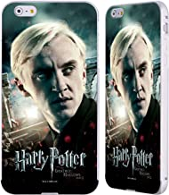 Official Harry Potter Draco Malfoy Deathly Hallows VIII Silver Aluminum Bumper Slider Case Compatible for iPhone 6 Plus/iPhone 6s Plus