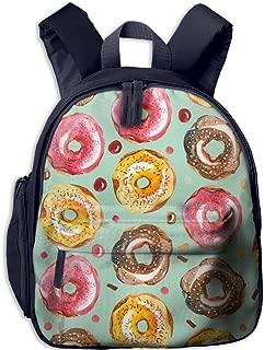 Pinta Donuts Cub Cool School Book Bag Backpacks for Girl's Boy's
