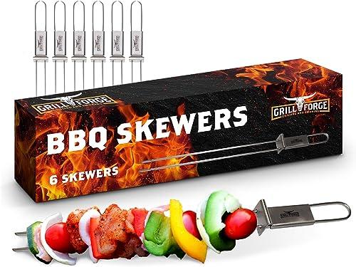 Skewers-for-Grilling-Metal-BBQ-Kabob-Skewer