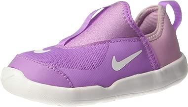 Nike Girl's Lil' Swoosh (TD) Running Shoes (9 M US Toddler, Fuchsia Glow/Light Arctic Pink/White)