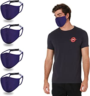 Adjustable Breathable Sports Face Mask-Outdoor Comfortable Washable Althetic Exercise Reusable Facemask with Nose Wire Str...