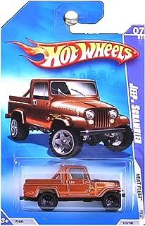 Hot Wheels 2009 Heat Fleet Jeep Scrambler Brown Copper