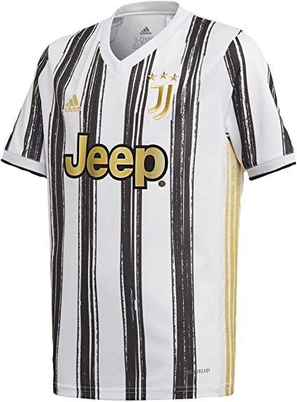 adidas Juventus Youth Home Soccer Jersey 2020/21