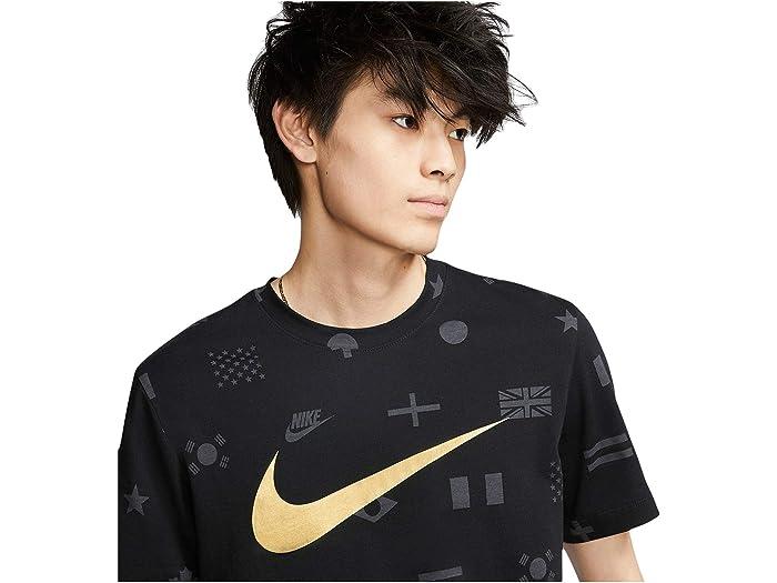 Nike Nsw Tee Prehe All Over Print Black Shirts & Tops