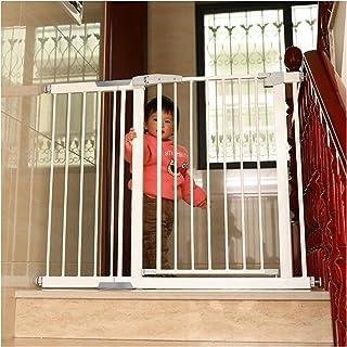 開閉式ベビーゲート 赤ちゃんガード柵 ス ペットゲート オートクローズ機能付き 上下ロック 取付可能幅68-222cm 階段/子供/犬/猫