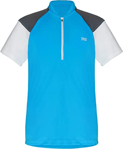 TAO Sportswear Enfys T-Shirt à Fermeture éclair pour Homme