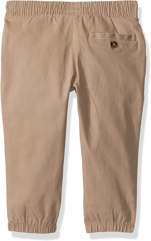 Boys Short Sleeve Woven Henley T-Shirt U.S and Jogger Set Polo Assn