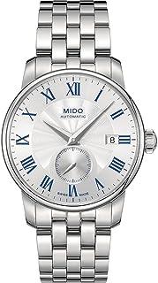 MIDO - Baroncelli M86084211 - Reloj para Hombres, Correa de Acero Inoxidable Color Plateado
