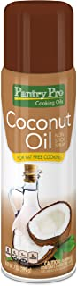 Pantry Pro Coconut Oil Cooking Pan Spray, 7 Fluid Ounce (Pack of 4)