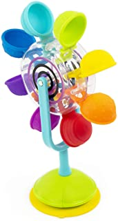 Sassy Whirling Waterfall Suction STEM Toy for Bathtime Fun & Learning