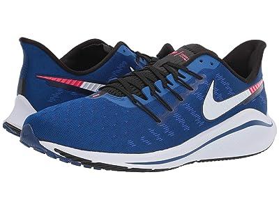 Nike Air Zoom Vomero 14 (Indigo Force/Photo Blue/Red Orbit) Men