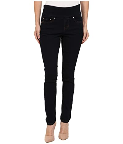 Jag Jeans Petite Nora Pull-On Skinny Jeans (After Midnight) Women
