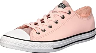 Converse Kids' Chuck Taylor All Star Glitter Leather Low Top Sneaker