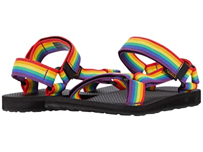 Teva Original Universal Rainbow Pride (Rainbow/Black) Men