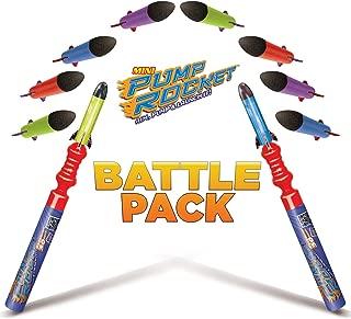 Geospace Pump Rocket Mini Battle Pack (includes 2 Launchers + 10 Rockets Total)