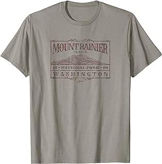 JCombs: Mount Rainier National Park (Distressed) T-Shirt