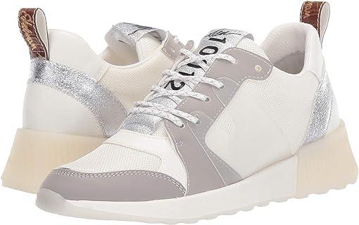 White/Fog Grey/Soft Silver Mesh/Leather/Nubuck