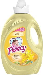 Fleecy Liquid Fabric Softener, Aroma therapy Calm, 148 Loads, 3.5 Liter