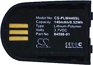 $22 » Sponsored Ad - AOOF 140mAh,3.7V,Wireless Headset Li-Polymer Replacement Battery,Office Communicator 2007,Lync 2010,Savi Se...