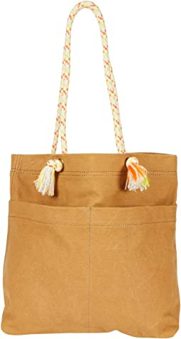 Canvas Transport Tote w/ Bungee Strap