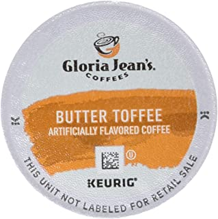 GREEN MOUNTAIN Gloria Jeans Butter Toffee Coffee 12 Ct Keurig Brewed K-cups Green, 12 ct