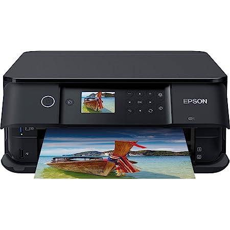Epson Imprimante Expression Premium XP-6100, Multifonction 3-en-1 : Imprimante recto verso / Scanner / Copieur, A4, Jet d'encre 5 couleurs, Wifi Direct, Lecteur de carte, Ecran, Cartouches séparées