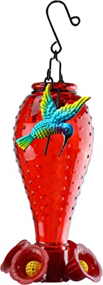 Red Carpet Studios 41213 Feeder Red Hummingbird
