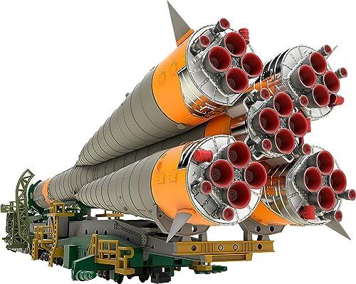 seguro de calidad Good Smile Company Soyuz Rocket & & & Transport Train Plastic Model Kit 1 150 32 cm  ventas calientes