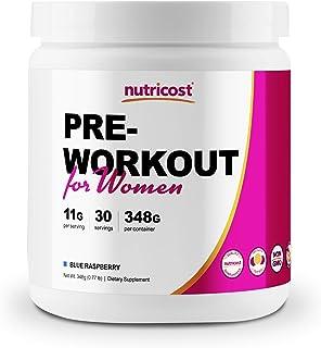 Sponsored Ad - Nutricost Pre-Workout Powder for Women Blue Raspberry (30 Serv)
