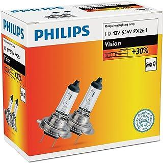 H7 12V 55W PX26d Vision 30% 2st. Philips