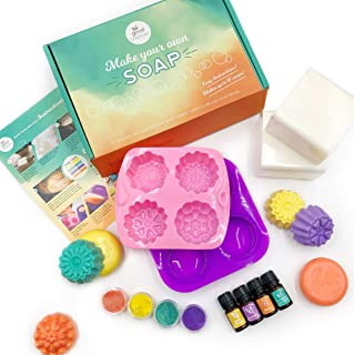 DIY Soap Making Kit by Good Dabbler - Make Your Own Soap for Adults or Kids