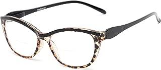 Readers.com Reading Glasses: The Ambrosia Bifocal Reader, Plastic Cat Eye Style for Women