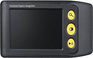 WNZL Digitale vergrootglas, elektronische leeshulp, 3,5 inch, voor slechtzienden, 2X-25X-voudige zoom, ideale hulp voor he...