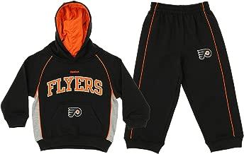 Reebok NHL Toddler's Philadelphia Flyers Classic Fan Fleece Set, Black