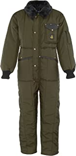 RefrigiWear Men's Iron-Tuff Insulated Coveralls -50F Extreme Cold Suit