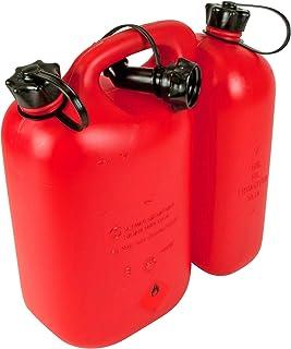 Oregon 562407 - Combi-can rojo, 5 litros de combustible y aceite de 3 litros